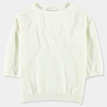 Mani Piqué Knitted T-Shirt