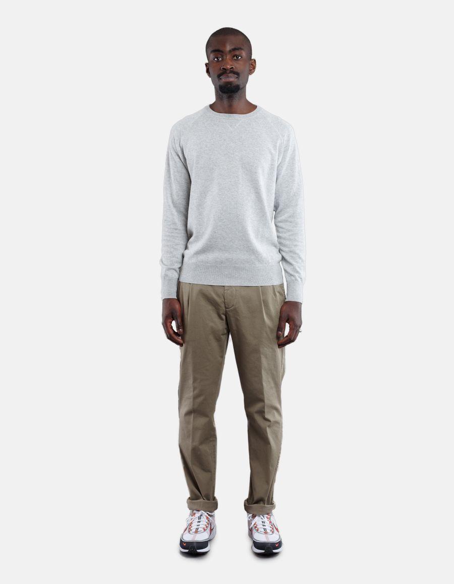 Aspesi Knitted Cotton Piquet Sweater