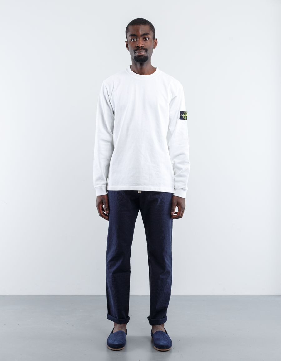 Stone Island 681564558 V0001 - Garment Dyed Heavy L/S T-Shirt