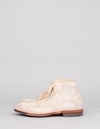 Suede Commando Tanker Boot