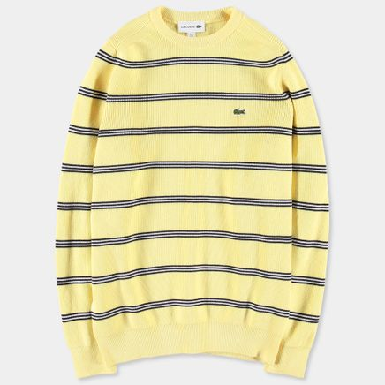 Stripe Knitted CN Sweater