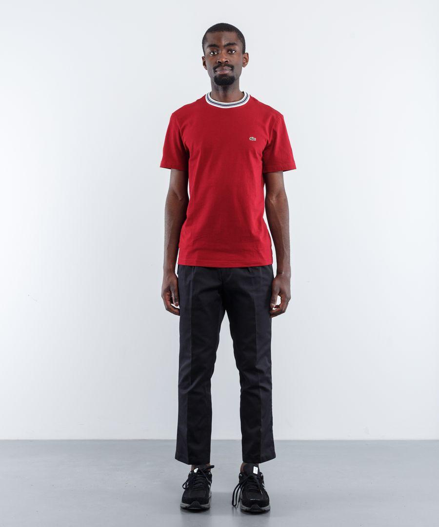 Lacoste Contrast Neck T-Shirt