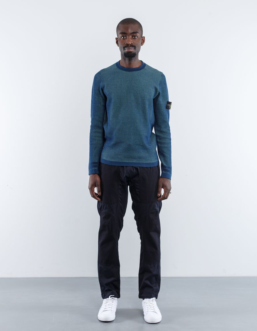 Stone Island 6815506A7 V0063 Knitted 3D Effect Jumper