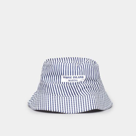 6815992XC V0026 Marina Stripe Bucket Hat