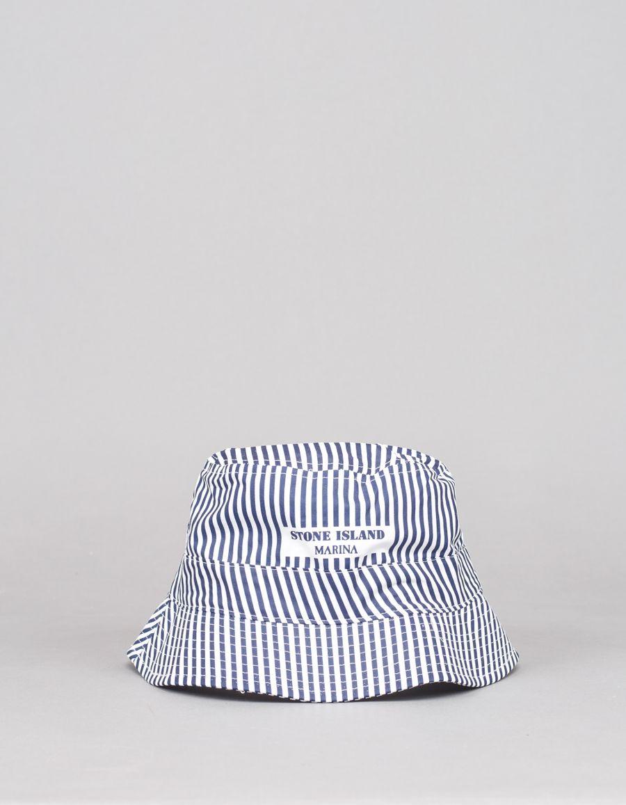 Stone Island Marina Stripe Bucket Hat