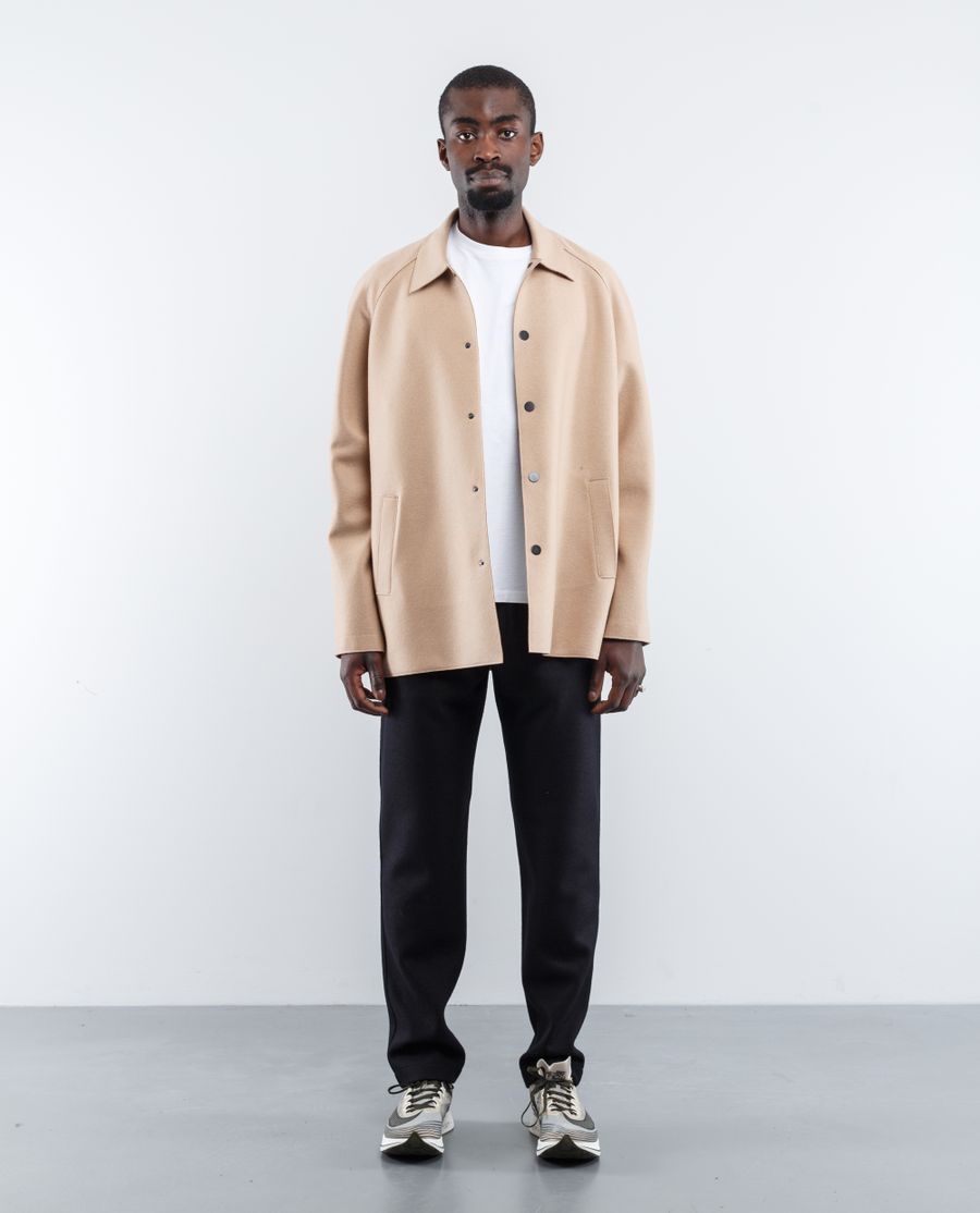 Harris Wharf London 3/4 Raglan L Pressed Wool Coat