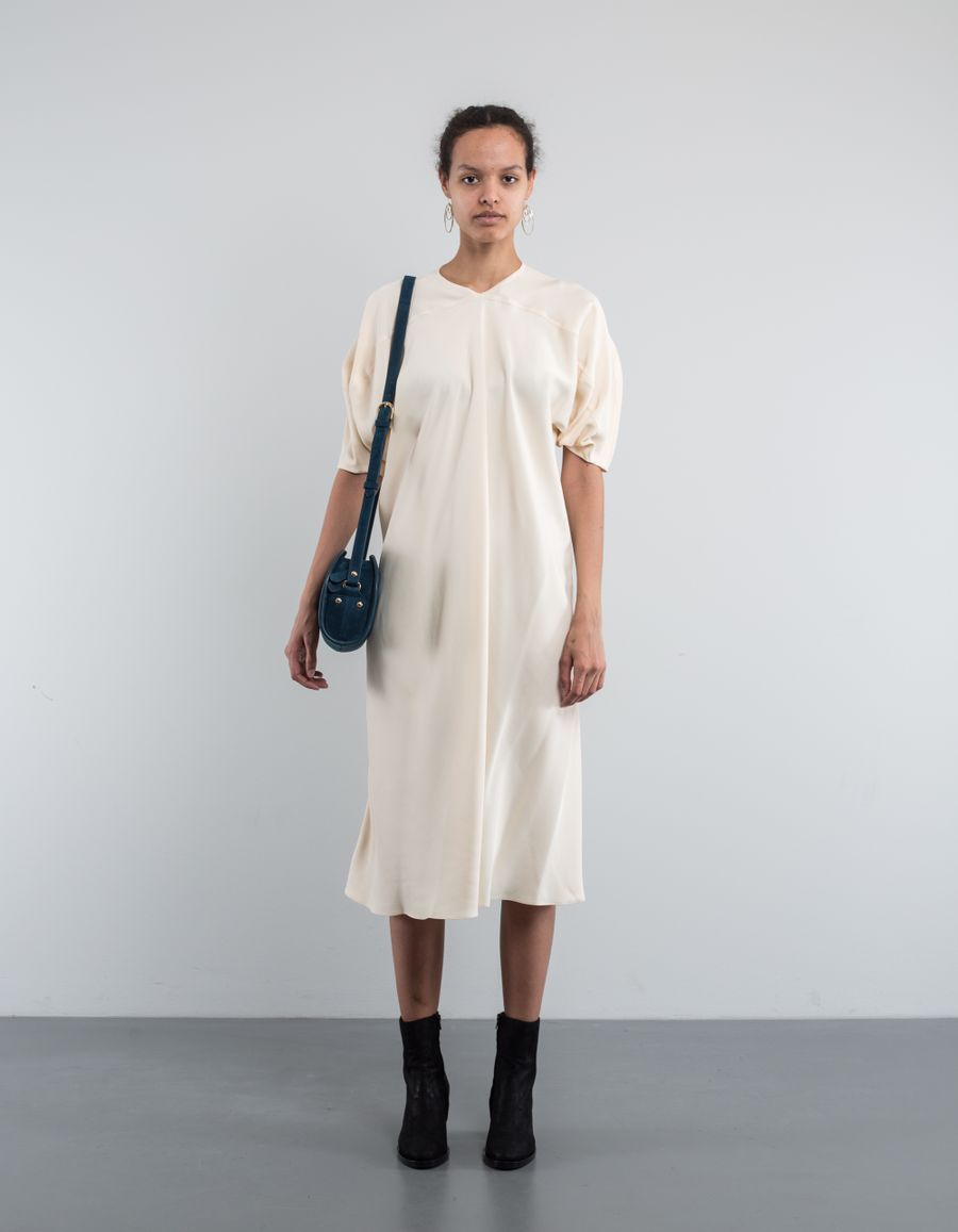 Lemaire Blouse Dress Curved Sleeves
