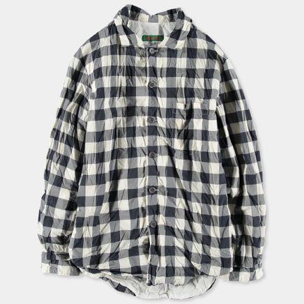Lined Checked Pyjama Shirt