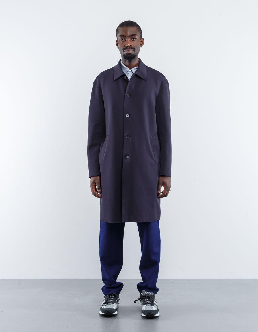 Harris Wharf London Technic Mac Overcoat