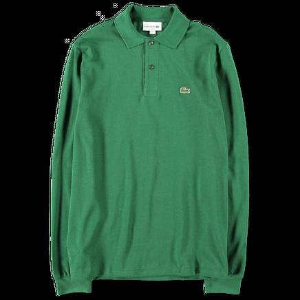 Classic Fit L/S Piqué Polo Green