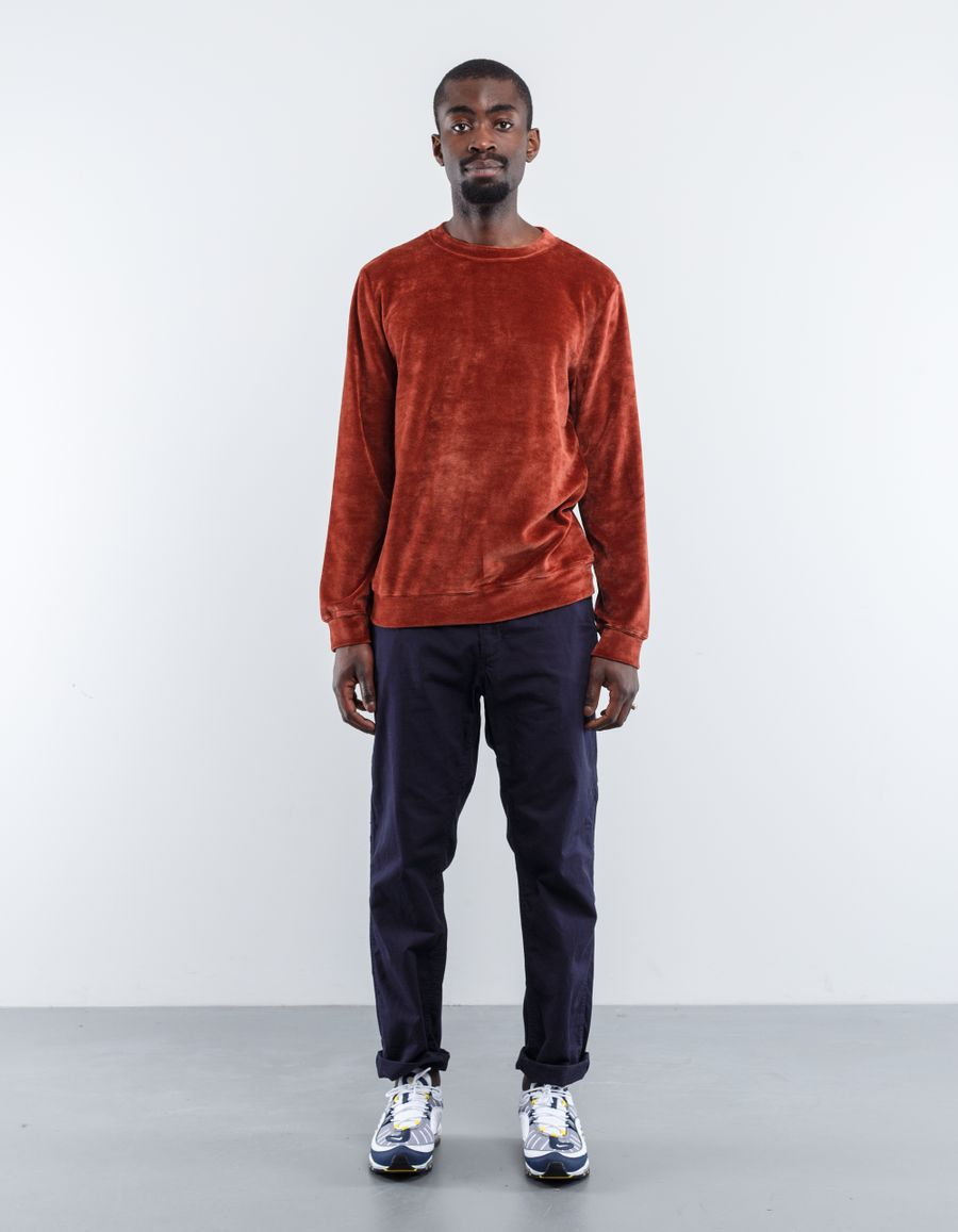 A.P.C. Jeremy Velour Sweatshirt