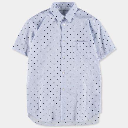 S/S Woven Dot Shirt