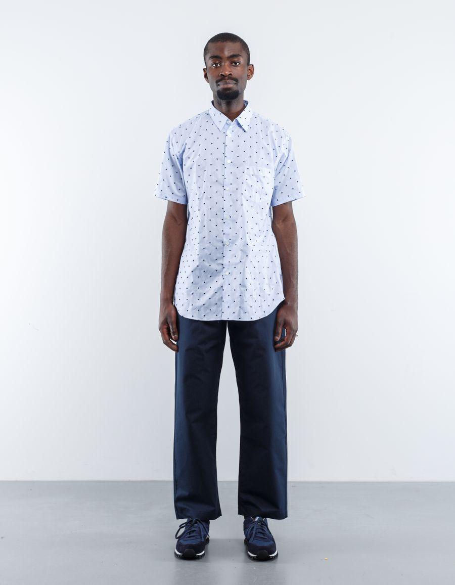 Comme des Garçons SHIRT S/S Woven Dot Shirt