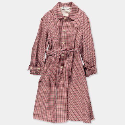 Vaghezza Coat  Checked