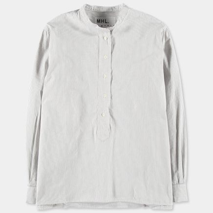 MHL Swing Shirt Narrow Stripe
