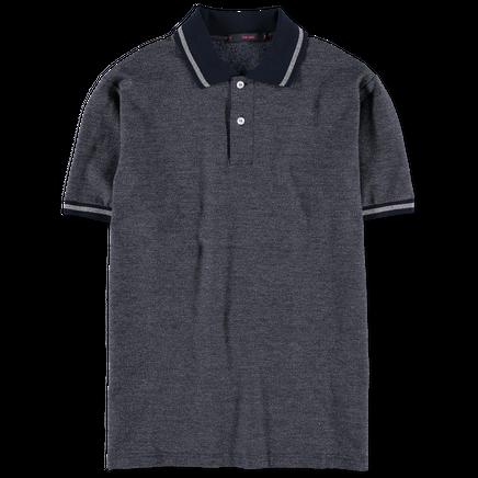 Melange Pique Polo Shirt