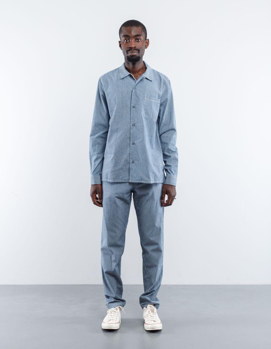 A.P.C. Luca Stripe Overshirt