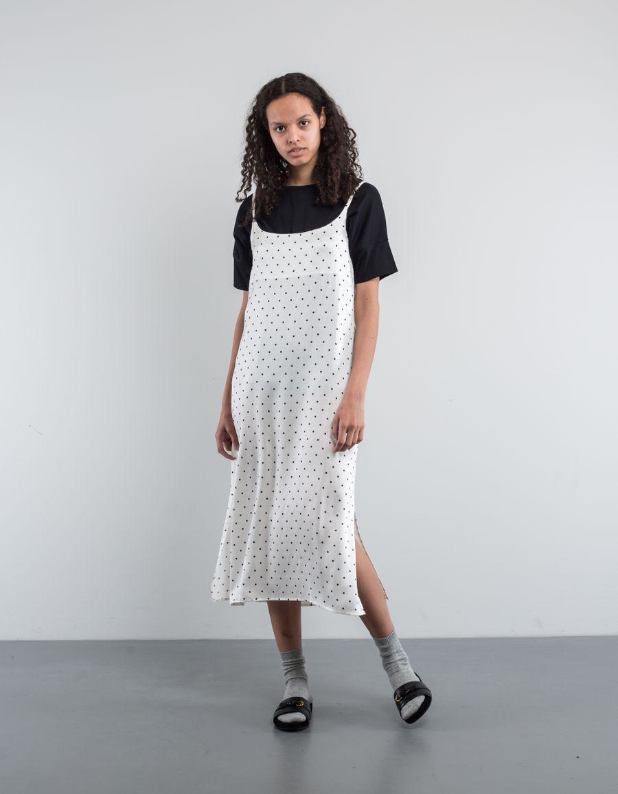 Asceno Long Slip Dress