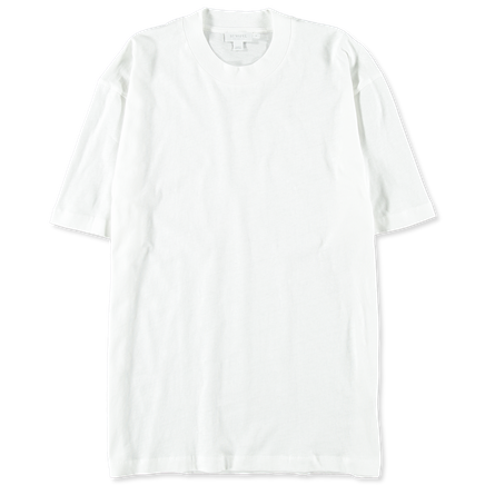 S/S Relaxed Slub Cotton Tee