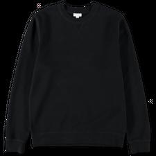 Sunspel Basic Sweatshirt - Black