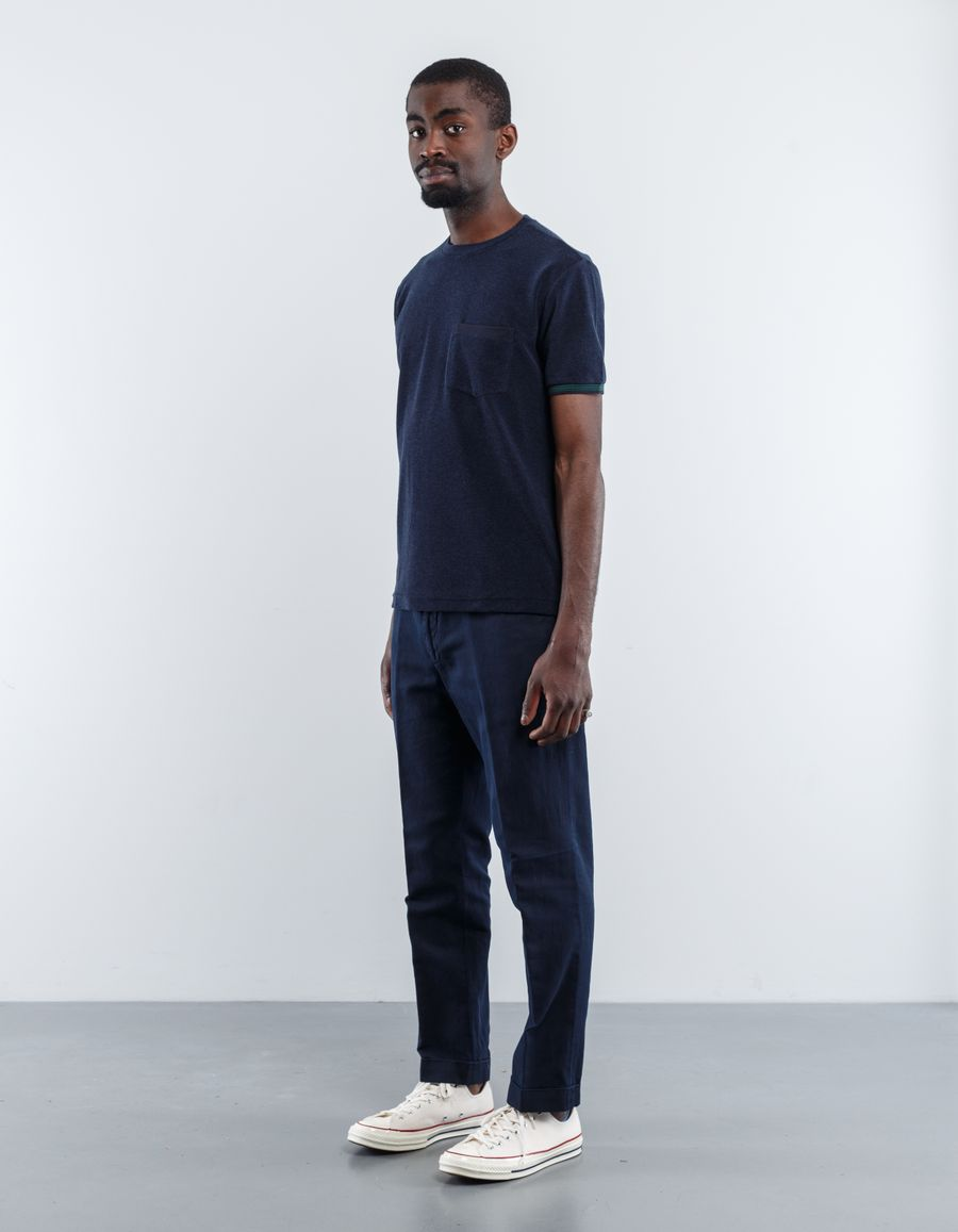 Aspesi Washed Cotton/Linen Trouser