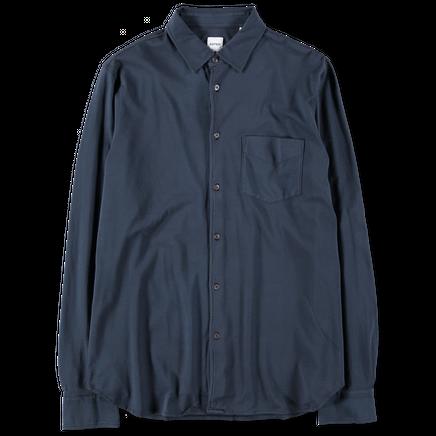 L/S Button Up Jersey Shirt