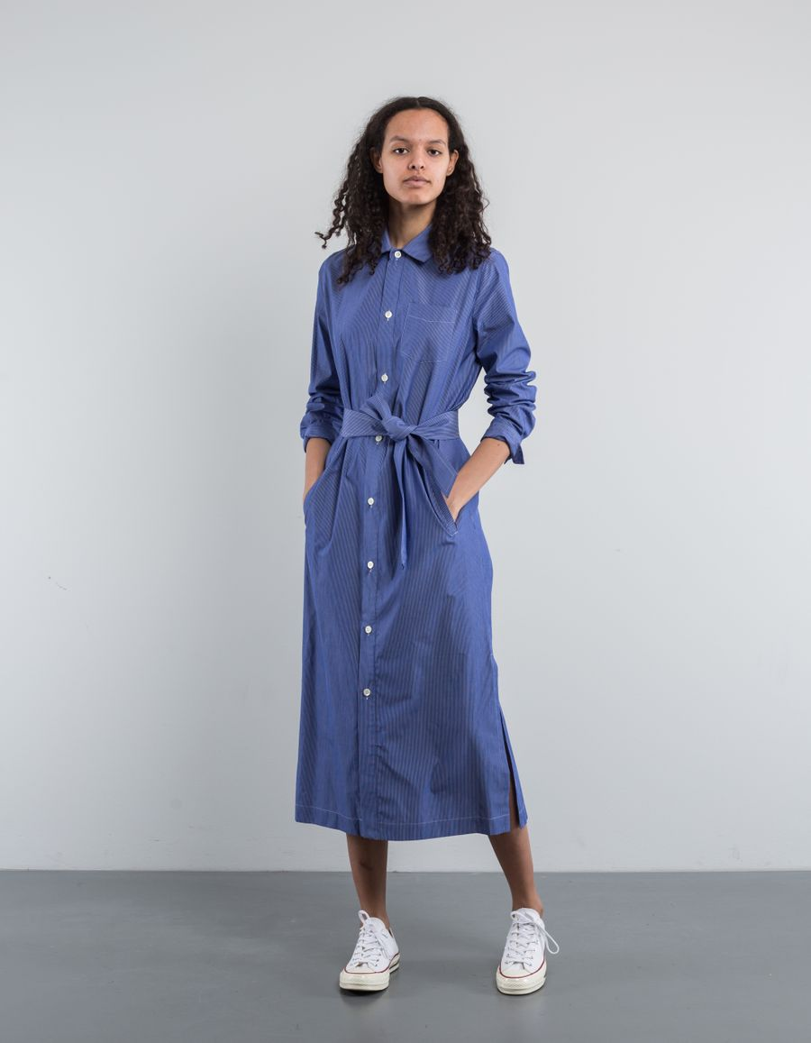 A.P.C. Robe Mille Long Shirt Dress