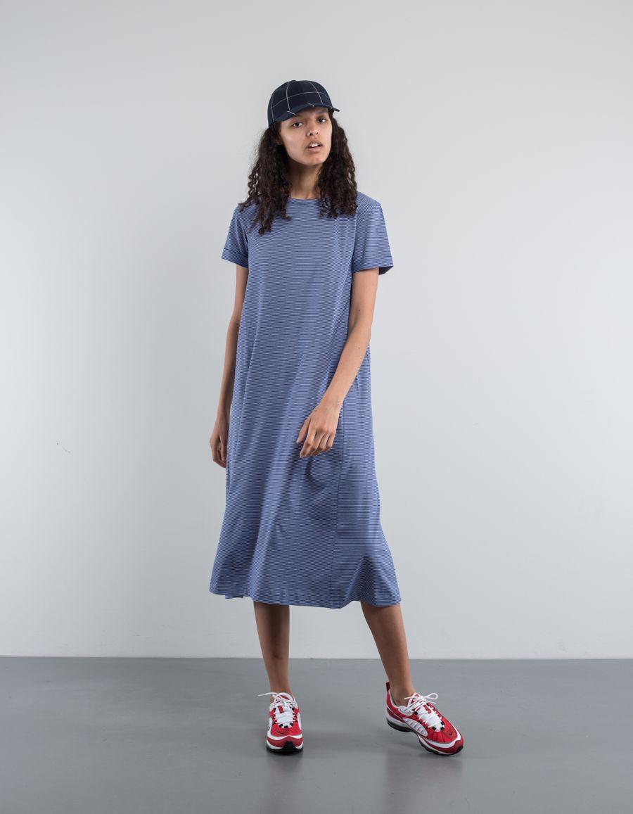 A.P.C. Lala Striped Jersey Dress