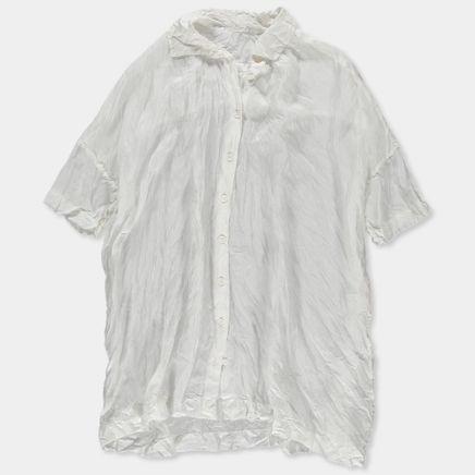 Square Shirt Habotai Silk