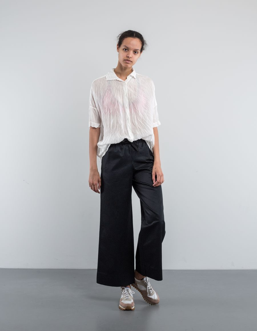 Casey Casey Square Shirt Habotai Silk