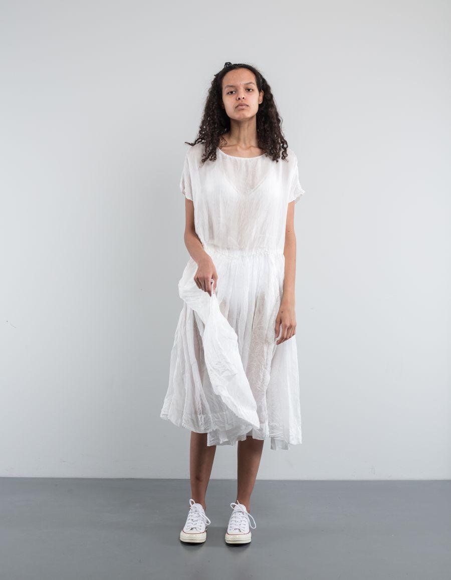 Casey Casey Pasha Rouche Dress HabotaiSilk