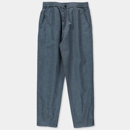 Denim Birdseye Track Trousers