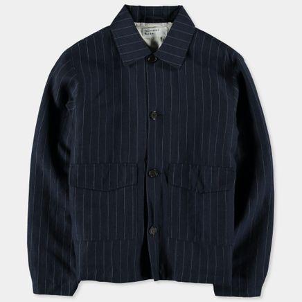 Li/Wo Stripe Watchman Jacket