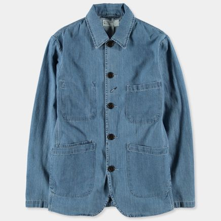 Summer Denim Bakers Jacket