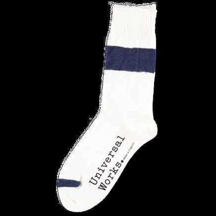 Light Hoop Cotton Socks