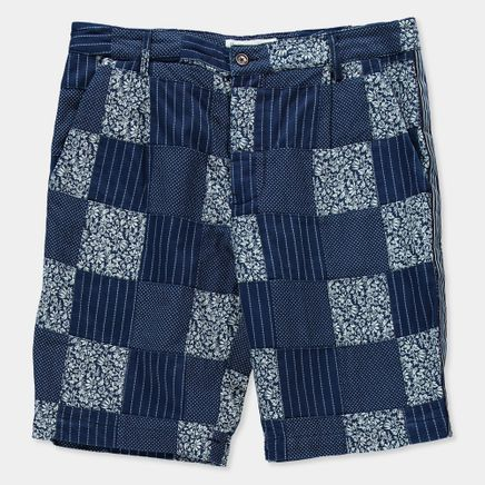 Patchwork Walk Shorts