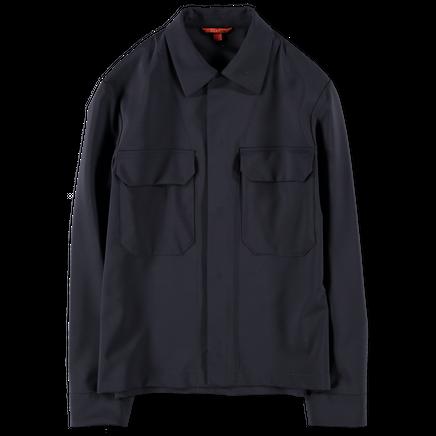 Tropical Wool Overshirt