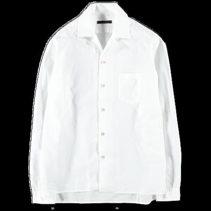 Washed Bowling Collar Shirt