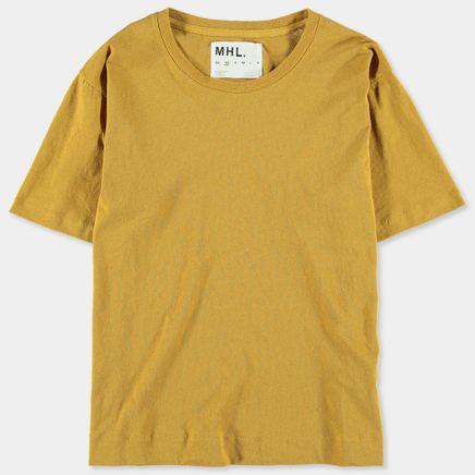 MHL Loose T-Shirt Ochre