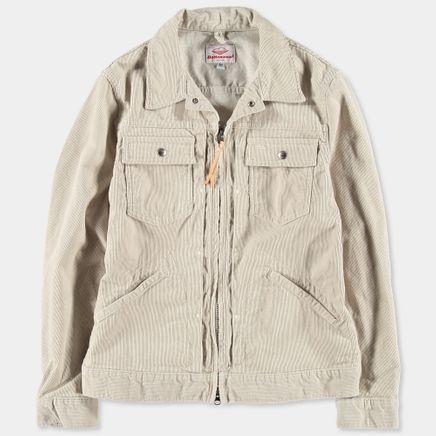 Zip Trucker Cord Jacket