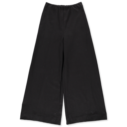 Wide Trouser Creased Cotton