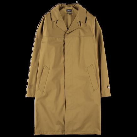 Bruce Twill Cotton Coat