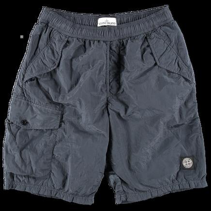 Nylon Metal Bermuda Shorts - 6815B0543 - V0063