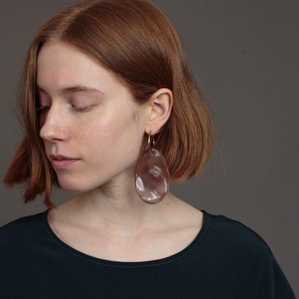 Waved Earring XL