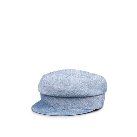 Maltese Creased Linen Cap