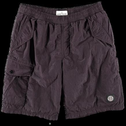 Nylon Metal Bermuda Shorts - 6815B0543 - V0012