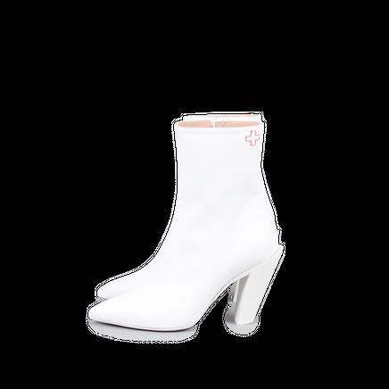 Slanted Heel Boot