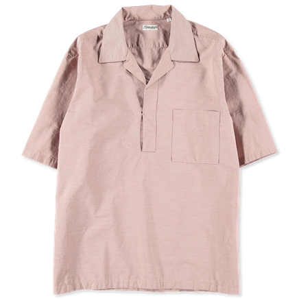 Bowling Collar Popover Shirt
