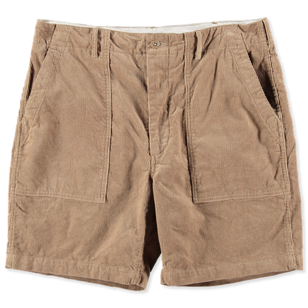 Corduroy Fatigue Shorts