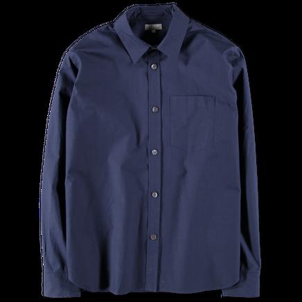 Minimal Dense Poplin Shirt